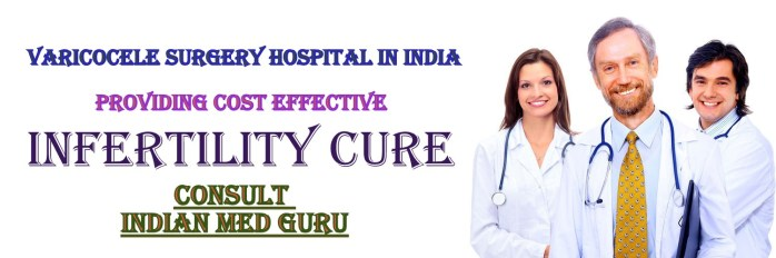 Varicocele Surgery Hospital in India
