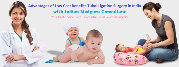 Low Cost Tubal ligation surgery India
