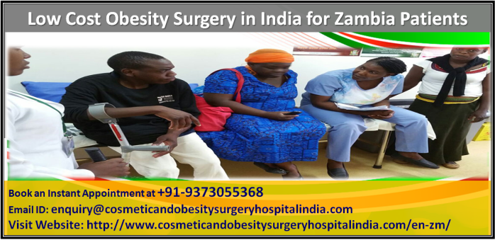 Obesity surgery Price in India for Zambia Patients