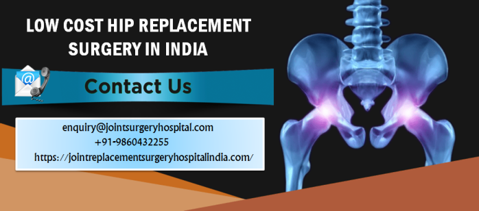 Average Cost Of Hip Replacement Surgery In India Under The