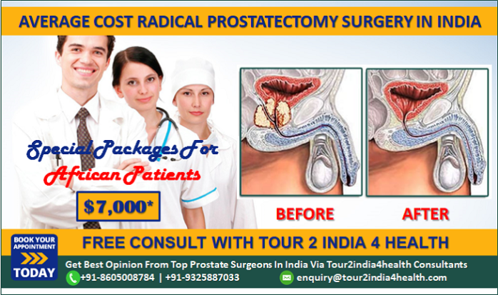 African Patients Get Average Cost Of Radical Prostatectomy Surgery
